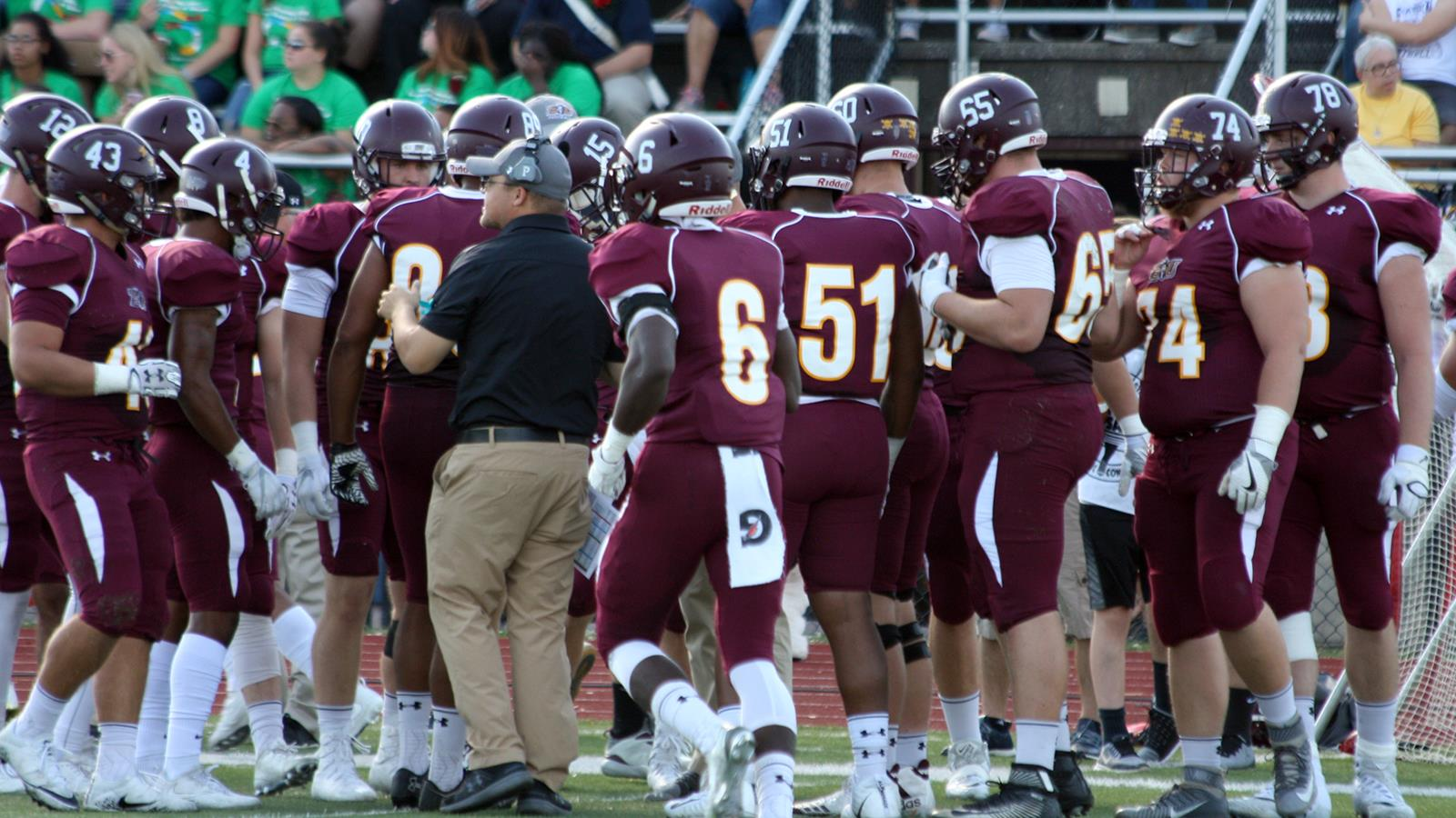 Football Picked To Finish Fourth In 2018 Psac East Preseason Coaches